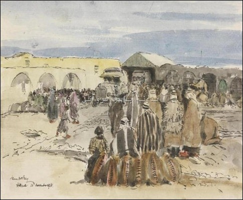 مدينة حماة 1918.