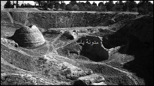 حفريات قلعة حماة الأثرية