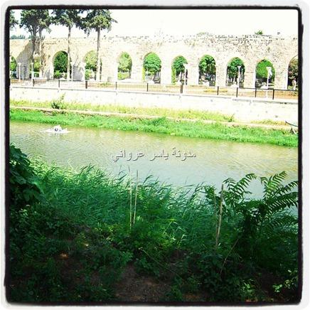 مجرى نهر العاصي ,