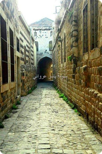 الأزقة القديمة في حماة