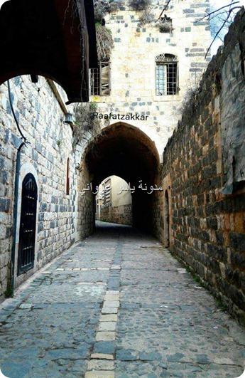 الأزقة في مدينة حماة