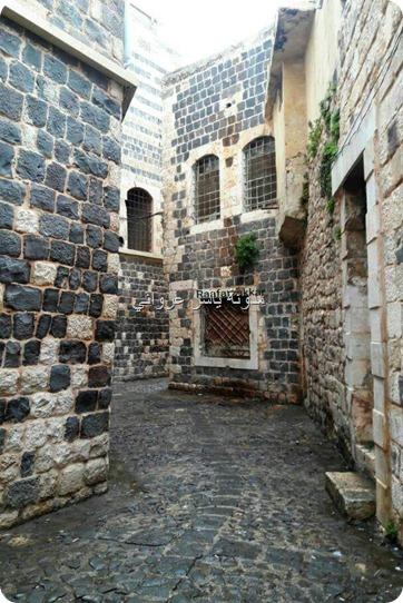 جمال أحياء حماة القديمة