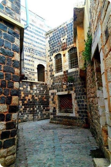 جمال الحجارة في حماة