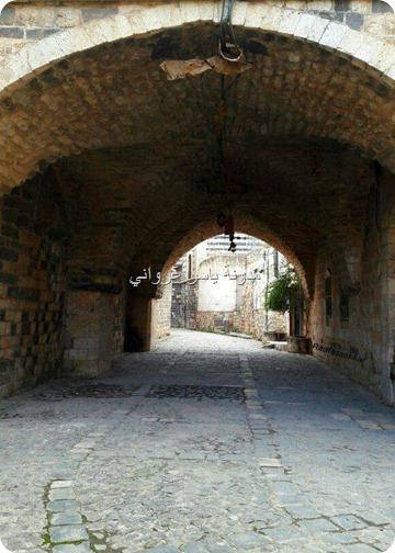 مدينة حماة أحياء قديمة
