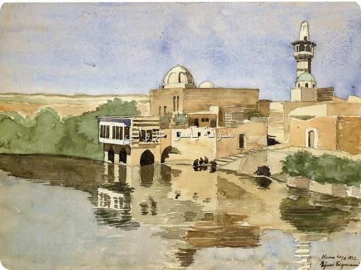 جامع أبي الفداء في مدينة حماة