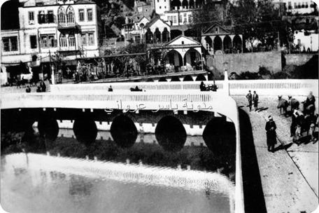 جسر السرايا عام 1922م