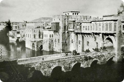 جسر الكيلانية مع واجهة حي الكيلانية
