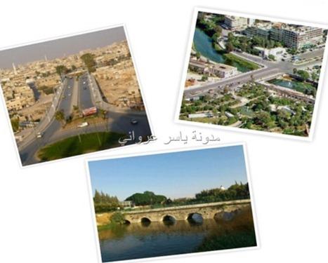 جسور مدينة حماة