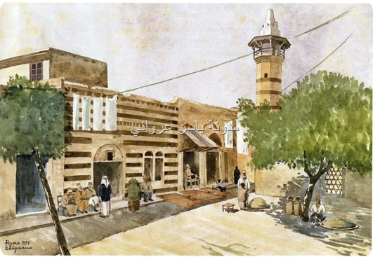 حي المرابط بمدينة حماة