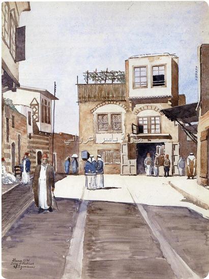 حي باب قبلي بمدينة حماة