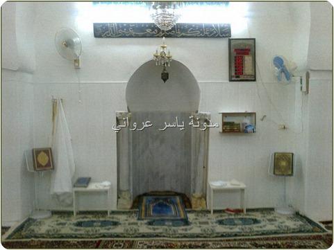 زاوية الشيخ علوان من الداخل
