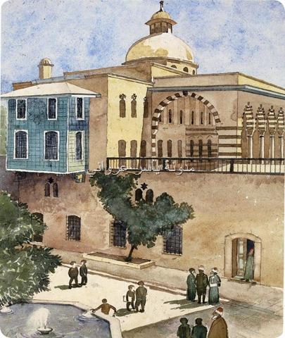قصر بيت العظم بمدينة حماة