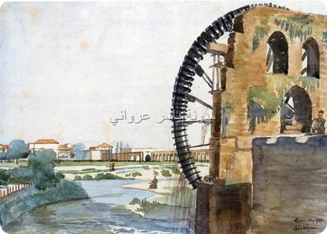 ناعورة المأمورية وقناطرها الحجرية