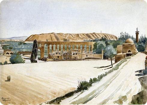 ناعورة المحمدية وقلعة حماة