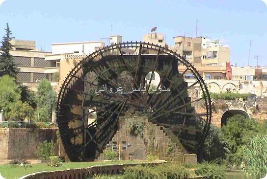 جمال نواعير مدينة حماة