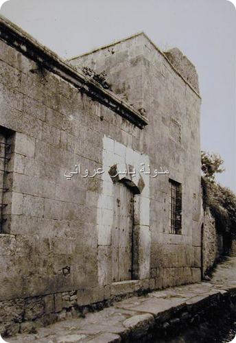 صورة قديمة لجامع العزي
