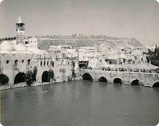 الجامع النوري وجسر الكيلانية 1960