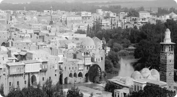 حي الكيلانية ويظهر بالصورة الجامع النوري
