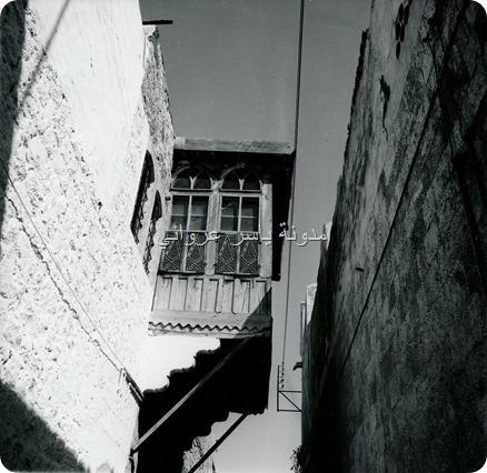 مشربية لأحد البيوت في حي الطوافرة 1960