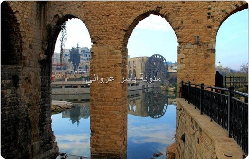قناطر ناعورة الجسرية بدايات القرن الواحد والعشرين.