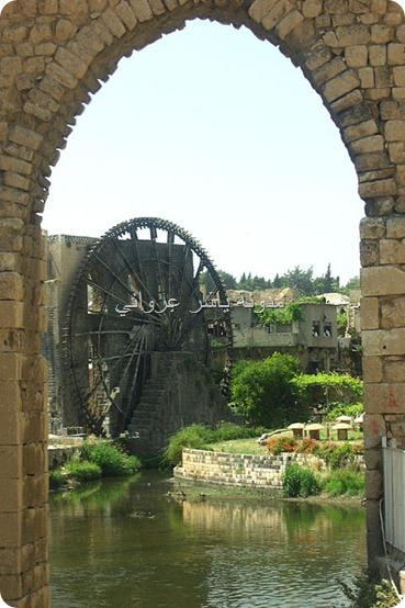 قناطر ناعورة الجسرية بدايات القرن الواحد والعشرين