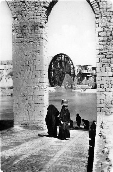 قناطر ناعورة الجسرية ثلاثينيات القرن العشرين