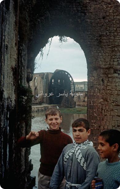 قناطر ناعورة الجسرية ستينيات القرن العشرين.,