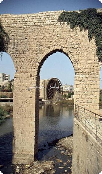 قناطر ناعورة الجسرية وبالعمق ناعورة المأمورية