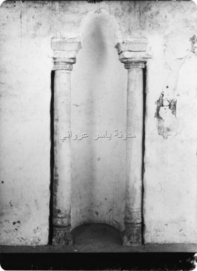 محراب جامع أبي الفداء الأثري