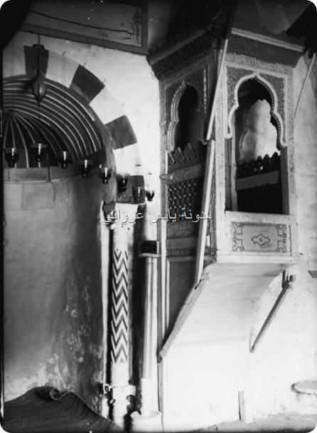 منبر و محراب الجامع النوري
