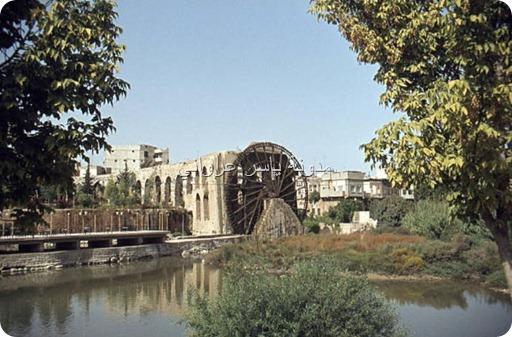 ناعورة المأمورية حماة 1982م