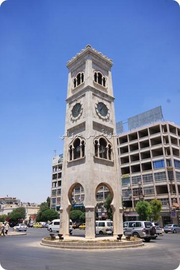 برج الساعة في حماه