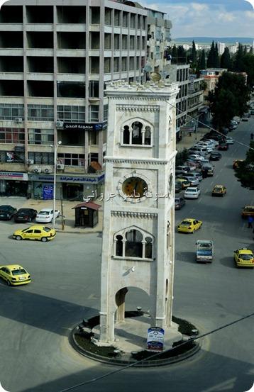 برج ساعة حماة مركز المدينة