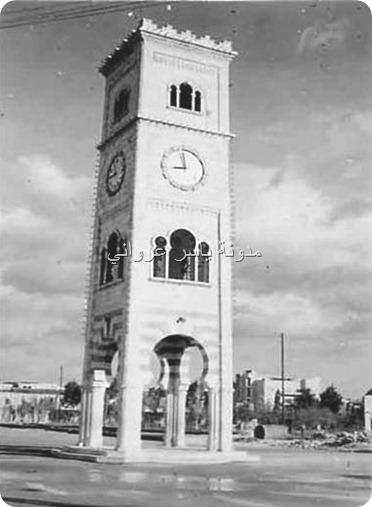 ساعة حماة الشهيرة