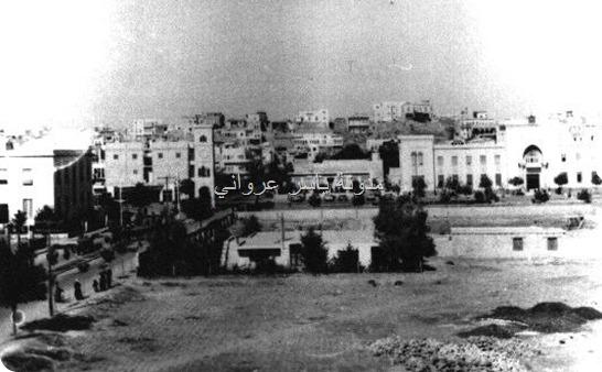 صورة قديمة لساعة حماة