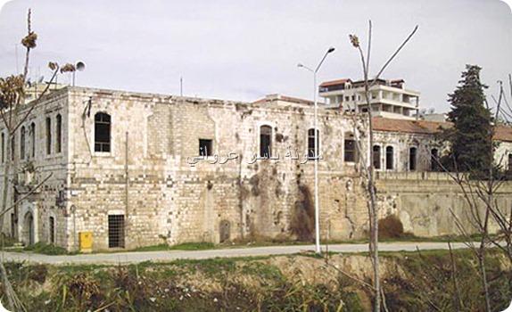 قصر الأرناؤوط الأثري بالقرب من نهر العاصي