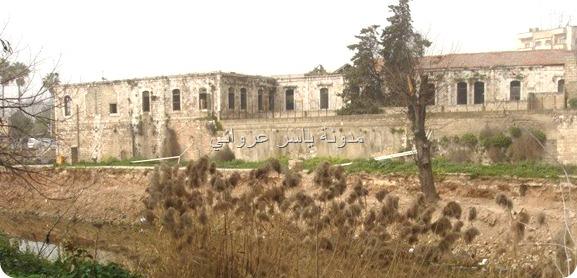 قصر الأرناؤوط ونهر العاصي