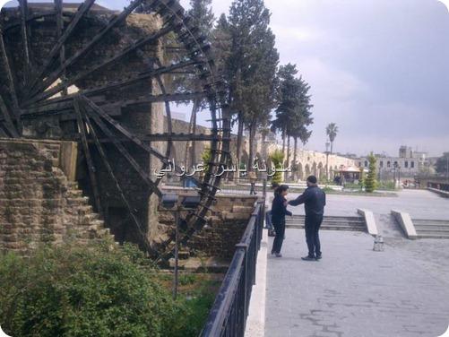 ناعورة الجسرية حماه