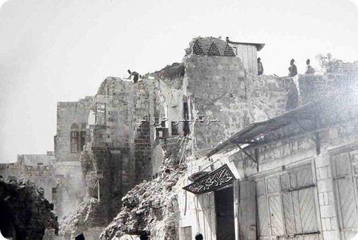 زلزال فلسطين نابلس 1927