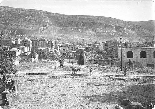 زلزال نابلس سنة 1927