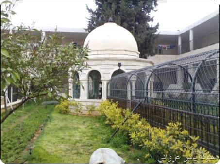 حديقة جامع التكية الهدائية