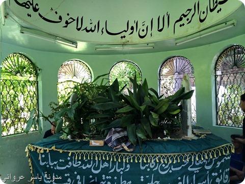 قبر الشيخ محمود عبد الرحمن الشقفة